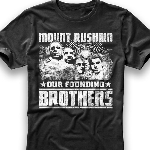 Mount Rushmo' Shirt