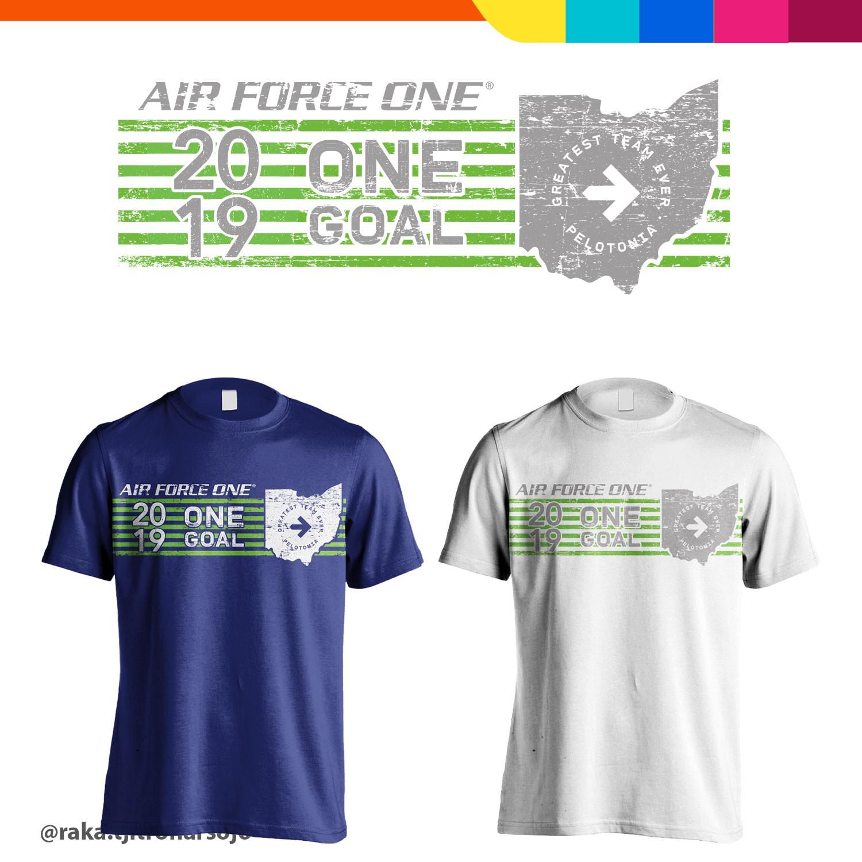 Pelotonia 2019 T-Shirt Design