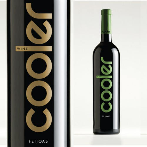 "Wine Label For ""Cooler"" Wine"