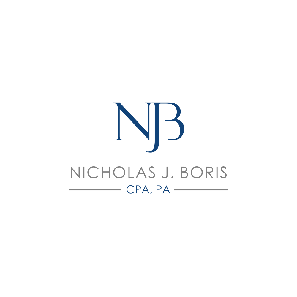 Creative way to use NJB initials as logo