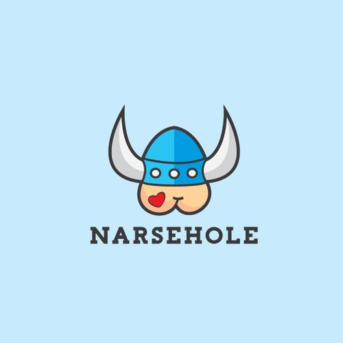 Bold, witty and playful viking logo