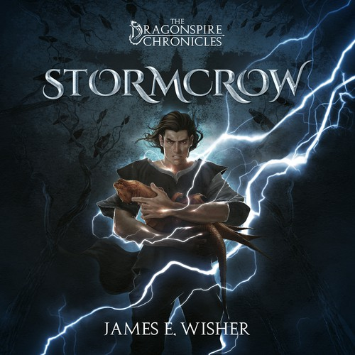 Cover Illustration and Design for Stormcrow by James E. Wisher
