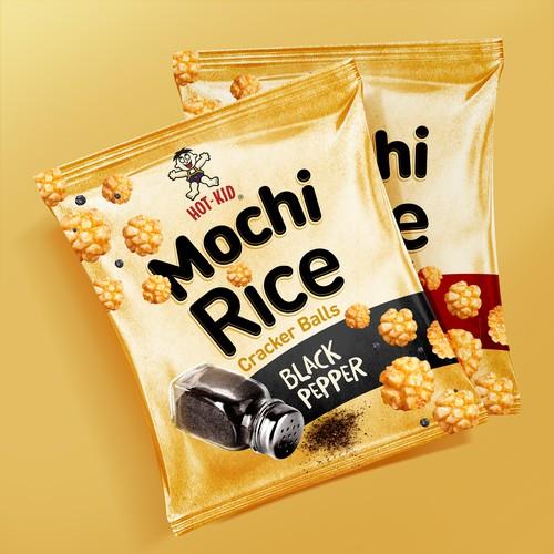Mochi Rice Cracker Design Contest