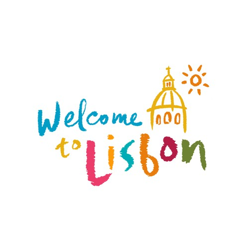 Tourism logo for Lisbon