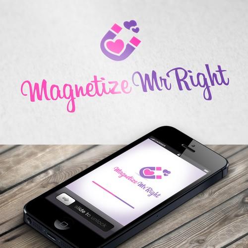 Logo Design for Magnetize Mr Right