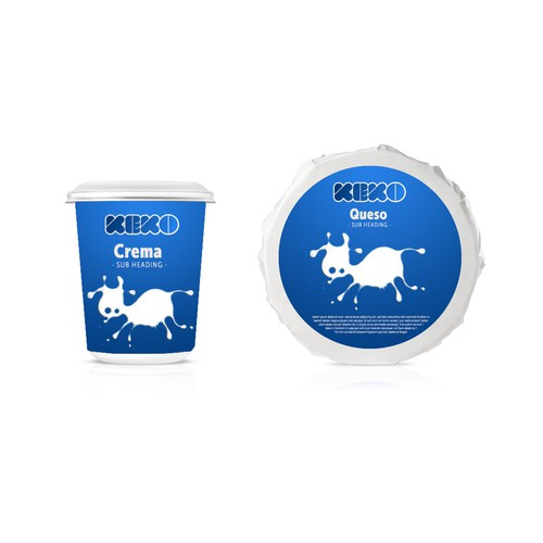 Product Label for Keko Cheese