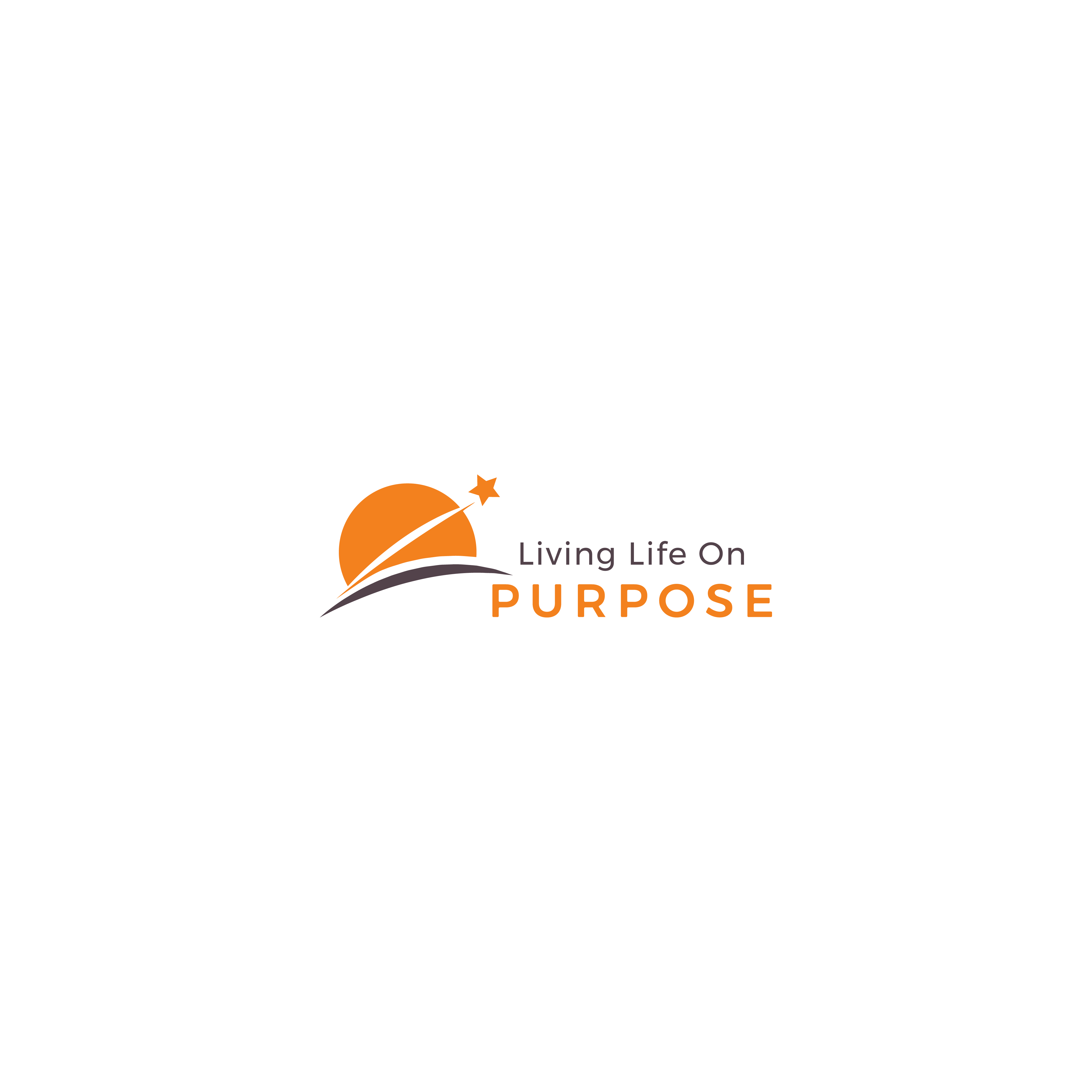 Need an energetic and soulful logo for Living Life on Purpose!