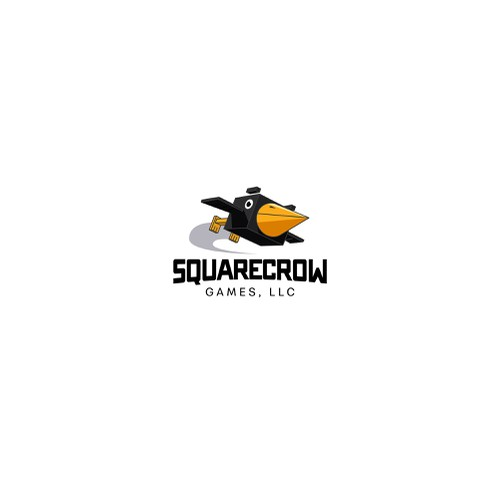 Crow logo for gaming company