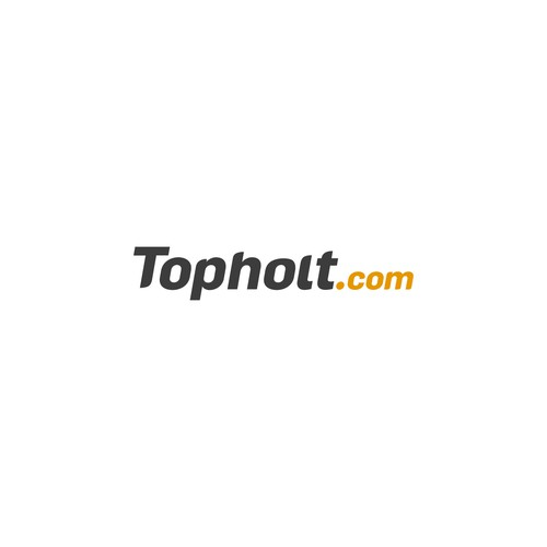 TOPHOLT logo and business card