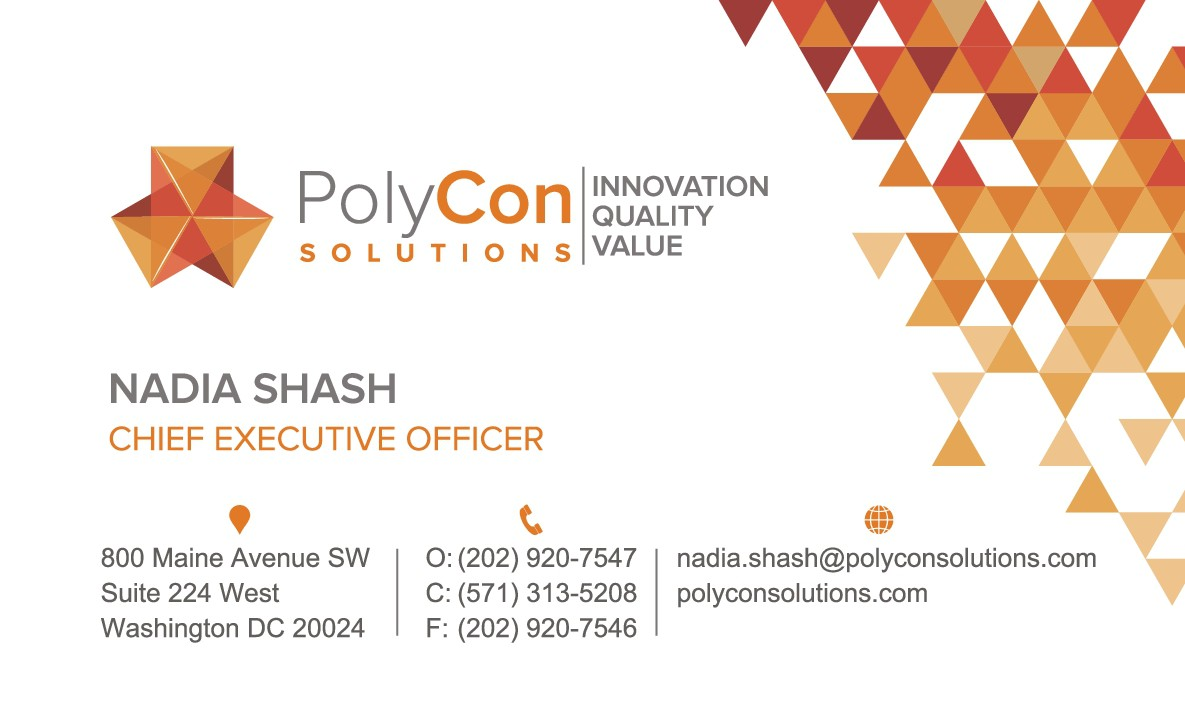 Business card update