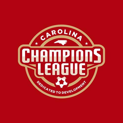 Carolina Champions League - Soccer League Logo