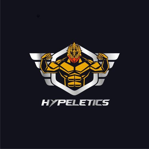 Hypletics logo design