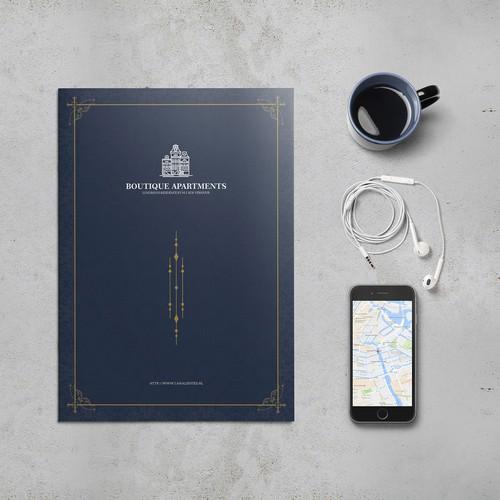 Luxurious Brochure for Bos Verhuur