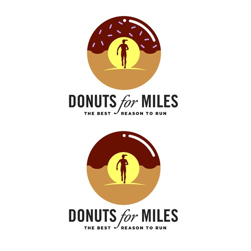 Donuts for Miles logo design