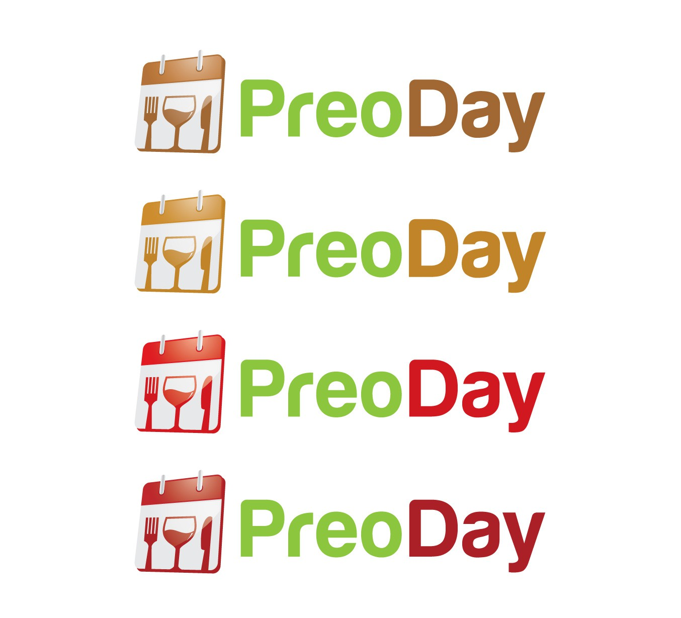 PreoDay    (NB uppercase P and uppercase D) needs a new logo