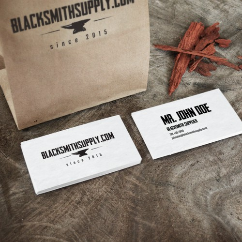 Concept for Blacksmith supplier in the online space