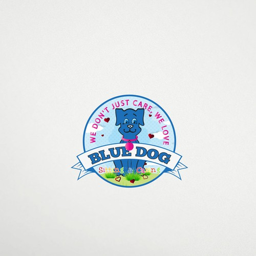 Logo Design for Bluedog