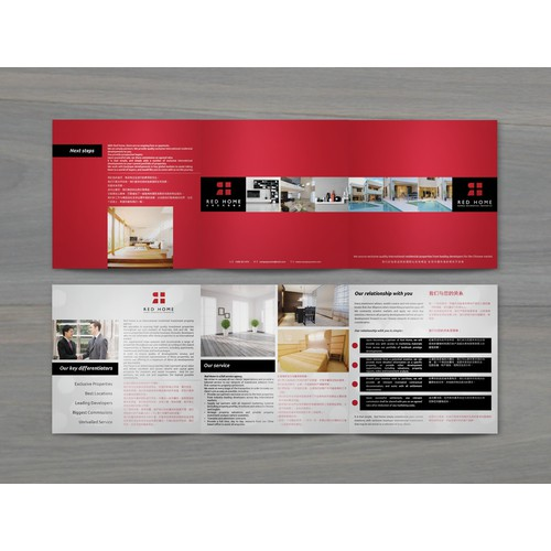 Red Home Capability Statement Brochure