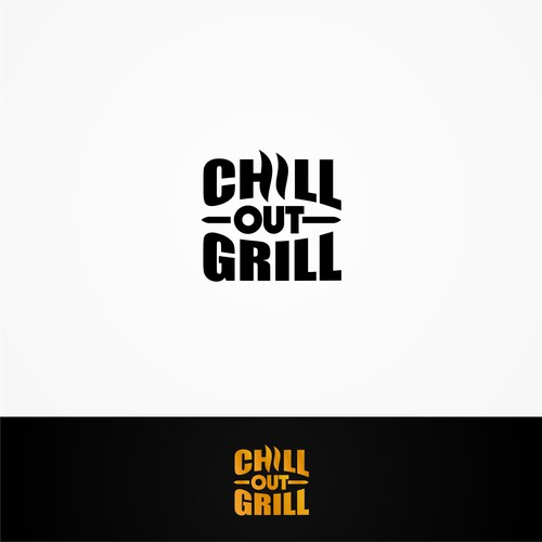 Logo for a company that sells grilling kit.