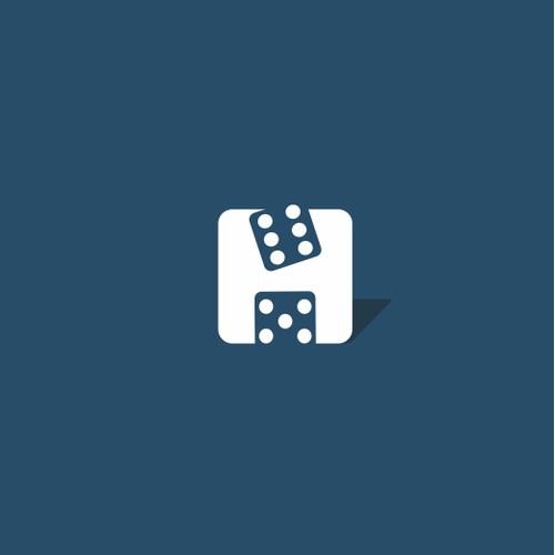 White space logo