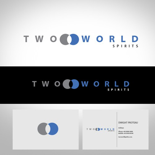Help Two World Spirits with a new logo and business card