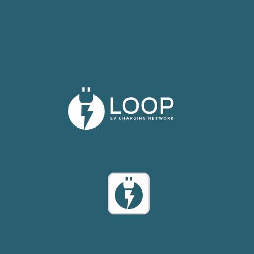 tech logo for loop ev charging