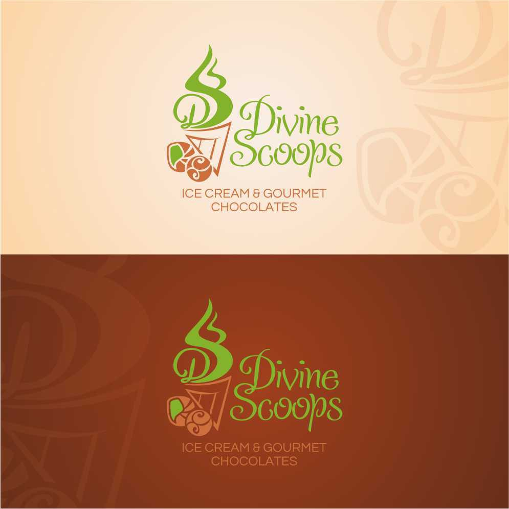 DIVINE SCOOPS needs a new logo