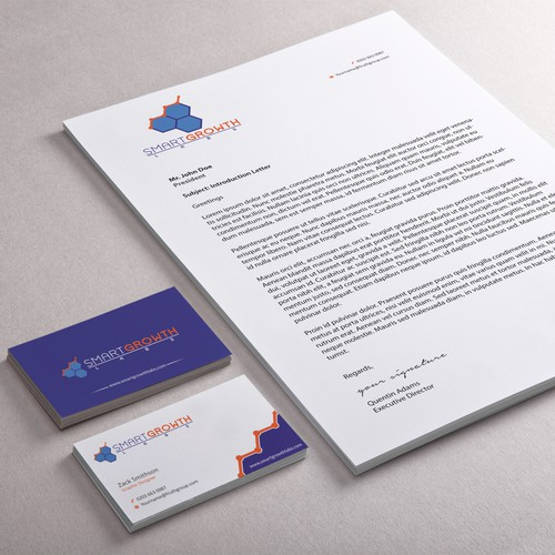 Business Cards and Stationary for Digital Marketing Consultancy