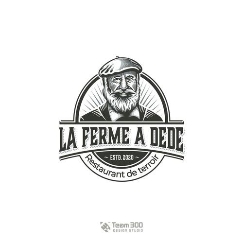 Vintage/Retro Logo for a French Restaurant