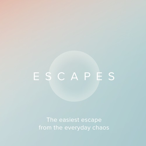 Escapes – iOS App design concept