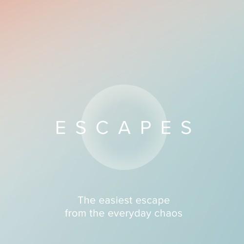 Escapes – iOS App design concept