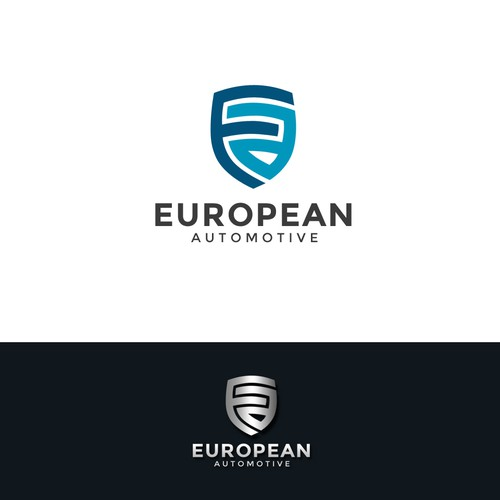 Logo for European automotive repair shop