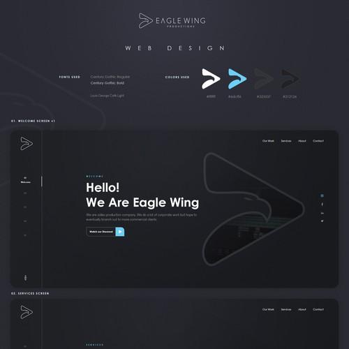 Eagle Wing Productions Premium Web Design
