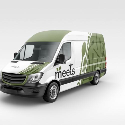 Van Wrap Design for meels