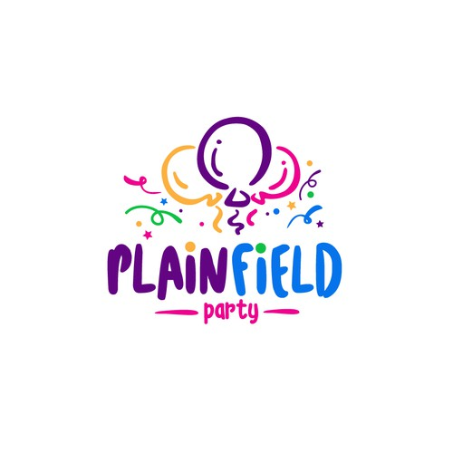 Plain Field Party __ Logo Design Concept