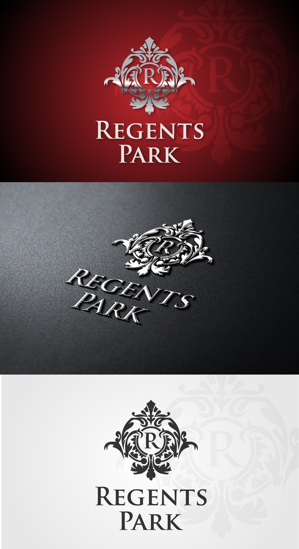 Regents Park needs a new logo and business card