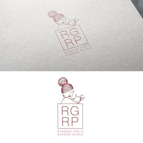 Feminine concept for a Logo