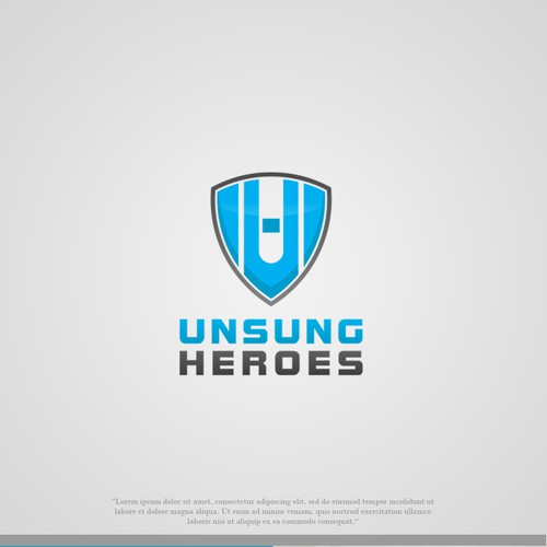 shield and UH letter