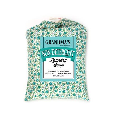 GRANDMA'S Non-detergent Laundry Soap