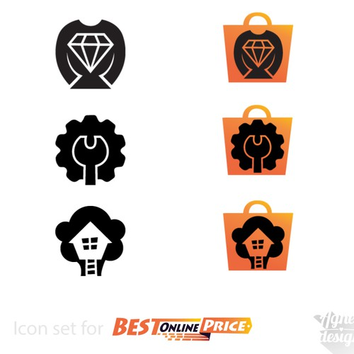Main Icons design