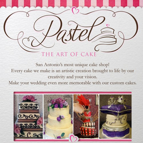 Pastel - The Art Of Cake flyer