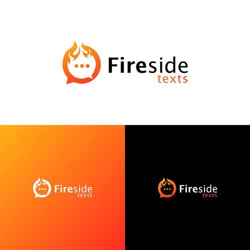 Fire logo for communication