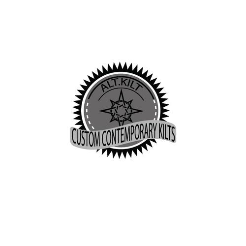 Make a modern logo for Alt.Kilt's custom clothing business