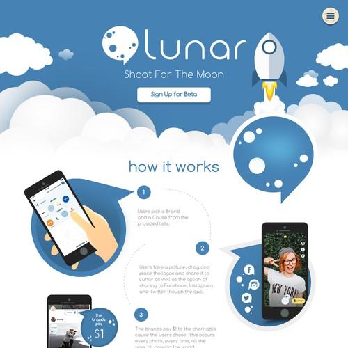 Web Design for an App