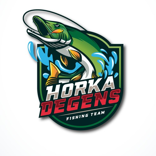 Horka Degens, logo for Norway National Fishing Team :)
