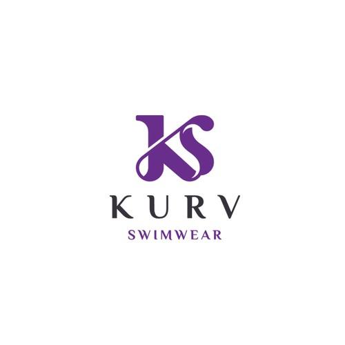 Elegant logo for a swimwear shop