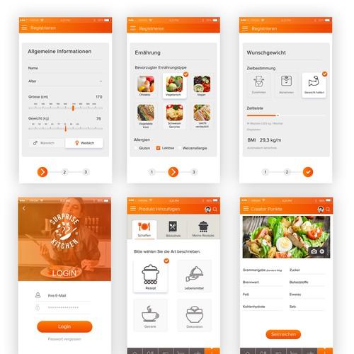 Diet Mobile app