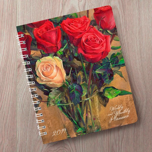 Diary cover design (notebook)