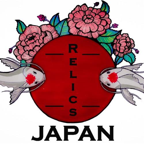 Japanese inspired logo