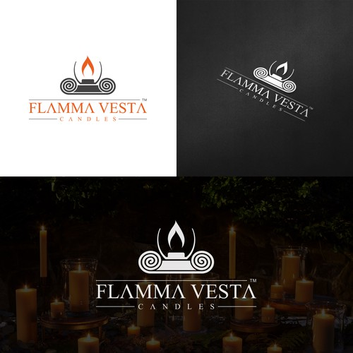 Logo for a high-end candle company